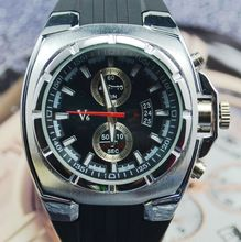 V6 2013 cuarzo reloj de hombres reloj reloj de moda ocasional q007