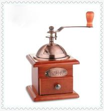 Наблюдательный мини руководство рук операция домой кофейных зерен кофемолка мельница ящика бесплатная доставка