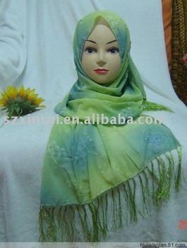 Islamic fashion hijab,oblong hijab