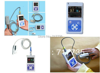 Blood Testing Equipments-Hand-Held Pulse Oximeter with OLED Display passed FDA and CE