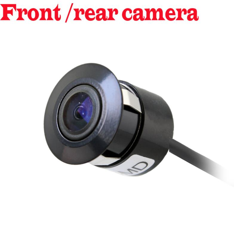 ccd HD Universal Night Vision Car Rear view Camera Reverse parking front camera Waterproof mini drill hole camera wire wireless(China (Mainland))