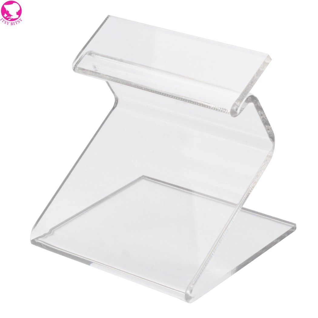Transparent Plastic Cell Phone MP3 MP4 Display Holder Rack Store Shop Show Stand Organizer(China (Mainland))