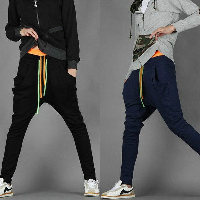 Baggy Sweatpants For Girls NEW Men Harem Baggy SweatPants