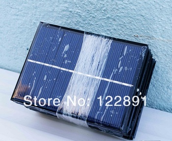 Wholesale! 20pcs/lot 0.6W 6V Mini Solar Cell Solar Panel DIY&Test Solar System Polycrystalline Solar Cell Panel Free shipping