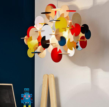Nordic creative personality Contemporary contracted living room bedroom restaurant Children room color Building Blocks droplight(China (Mainland))