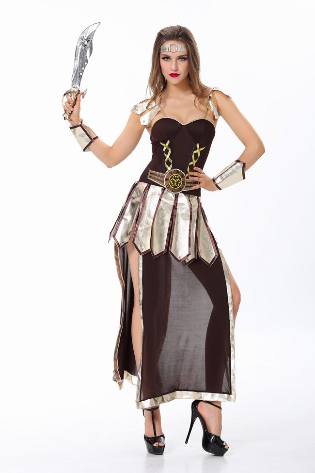 Woman Roman soldier Costume Adult Pirate Costumes Halloween Costumes for Women captain pirate costume adult halloween(China (Mainland))