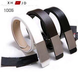Free Shipping Fashion Unisex Flat Buckle Belt