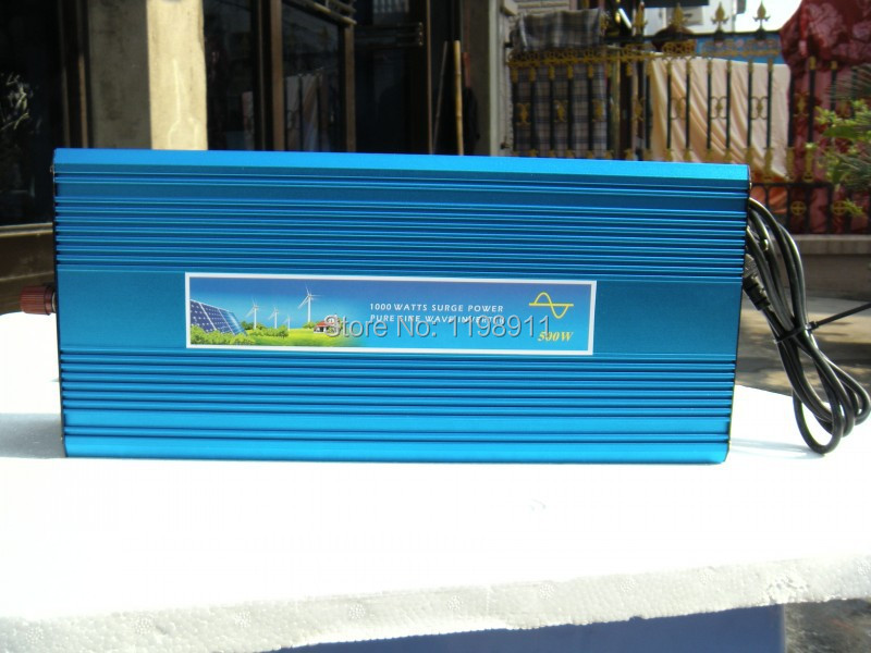 12V DC to AC Solar Inverter 4000W Pure sine wave power inverter DHL FEDEX CHARGER INVERTER Door to Door Free Shipping(China (Mainland))
