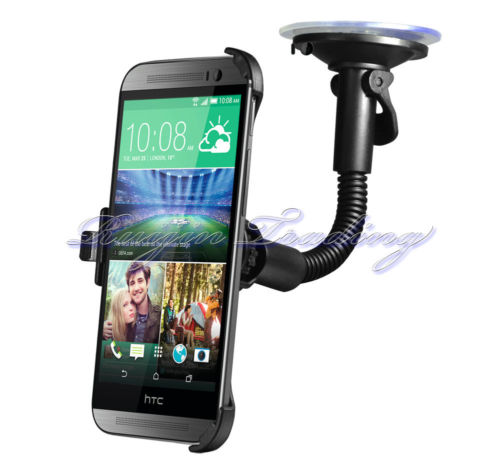 Universal Stand Car Phone Holder Car Windshield Suction Mount Holder Bracket for HTC ONE M8(China (Mainland))