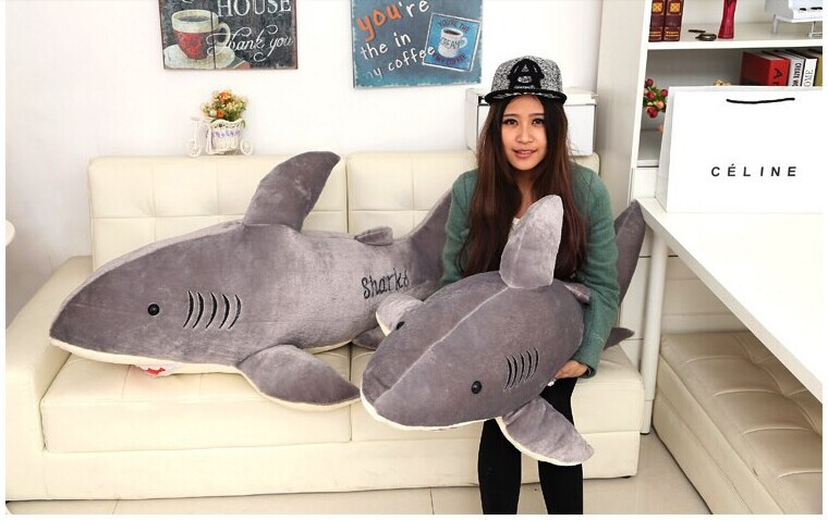 Giant shark sleeping bag best animal sleeping bag ebay for Life size shark plush