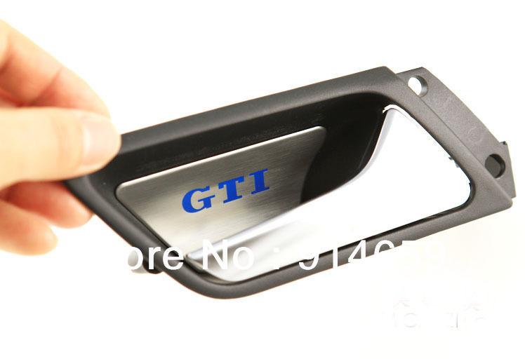 Inner Door Bowl Trim Door Bowl Decorative Stickers For Volkswagen Golf 6/GTI / Tiguan / new Jetta(China (Mainland))