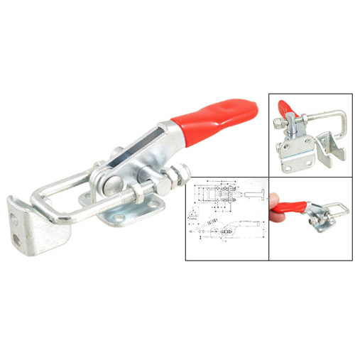 PHFU New 163Kg 359 Lbs Holding Capacity Metal Latch Action Push Pull Toggle Clamp<br><br>Aliexpress