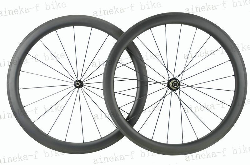 V-shape 23mm & U-Shape 25mm width Carbon Wheels 50mm wheels with NOVATEC A291SB-SL/F482SB-SL bike hub(China (Mainland))