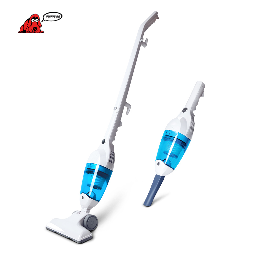 New Low Noise Mini Home Rod Vacuum Cleaner Portable Dust Collector Home Aspirator White&Blue Color WP3006 PUPPYOO()