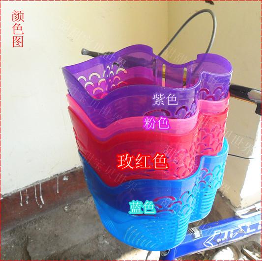 HOT free shipping Kids bike car blue basket(China (Mainland))