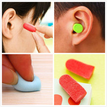 10 Pairs/set Soft Foam Ear Plugs Tapered Travel Sleep Noise Prevention Earplugs Noise Reduction(China (Mainland))
