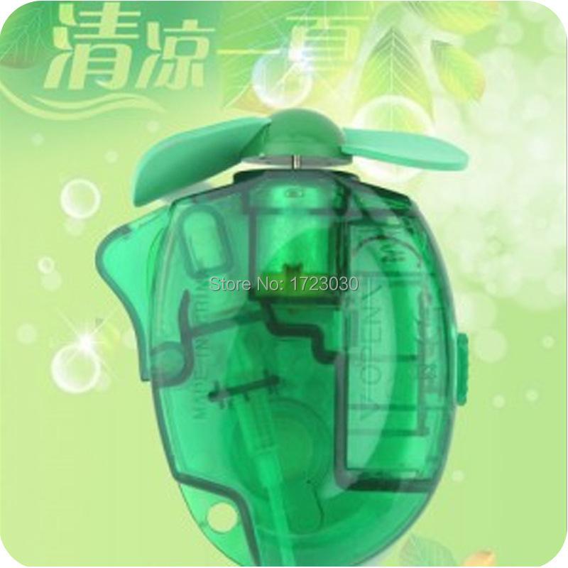 free shipping Handheld water spray mini fan, cool summer, fashion gift J0175(China (Mainland))