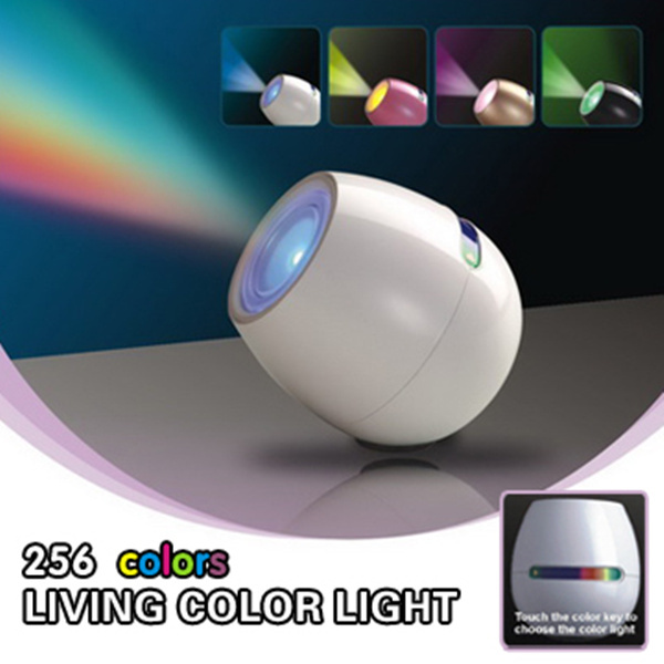 3pcs Hot new LED touch light Ambient Light USB charging LED lamp 256 Colors night light bedroom/Bedside decoration lighting(China (Mainland))