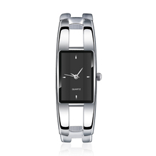 2016 Luxury Brand Watch Bracelet watches Hollow Sexy Slim Band women bangle watches Fashion Beauty designer Ladies quartz watch