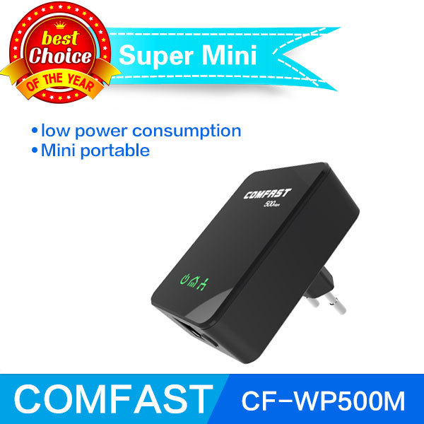 New brand COMFAST homeplug Powerline network adapters 500mbps CF-WP500M plc homeplug power line ethernet adapter free shipping(China (Mainland))
