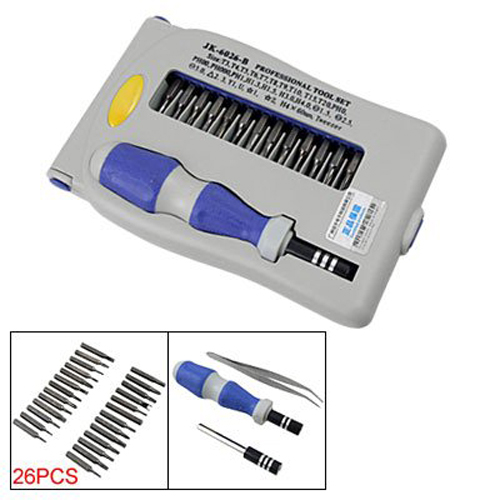 USA Stock! Hot Sale! 29 in 1 Plastic Stee Magnetic Slotted Philips Torx Screwdriver Set(China (Mainland))