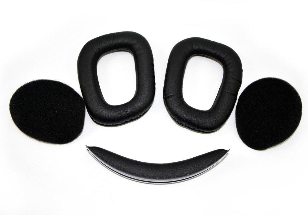 Replacement Headband and Earpads Ear Pads Cushions Repair Set for Sennheiser HD 8 DJ / HD 6 Mix DJ Headphones