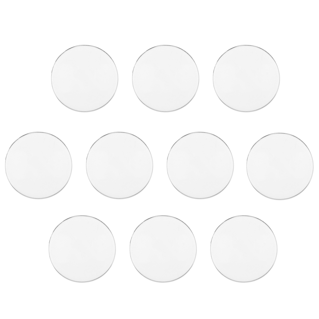 Safety Plastic Eyes for 1/6 Doll Flat Eyes DIY Supplies Crafts In total 5 Pairs