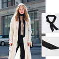2016 long silk Twilly scarf HOT Sales Spring women were thin fashion satin small scarf chiffon