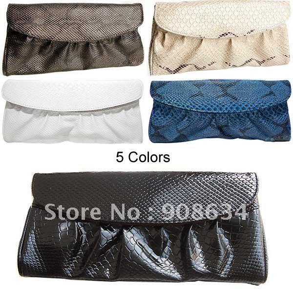 Fashion Women Lady Faux Leahter Clutch Shoulder Purse Handbag Sling Bag<br><br>Aliexpress