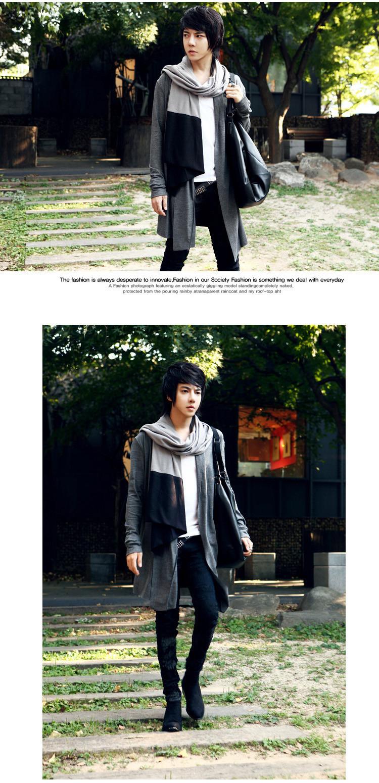 2014 חם Mens ארוך שרוול סוודר,זכרים למשוך סגנון קרדיגן Clothings אופנה סוודרים#P0202