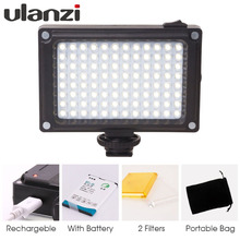 Buy Ulanzi Rechargeable LED Panel Light Canon Nikon DSLR fill lighting Camera Youtube Video Bloggers Filmmakers Streaming for $12.23 in AliExpress store