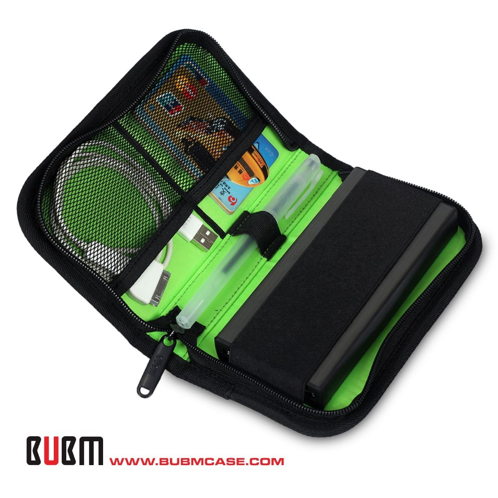 BUBM Portable Electronic Accessories Travel Organizer Case ...