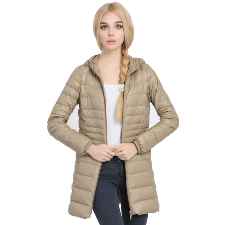Women Ultra Light Down Jacket Hooded Coat Long Jacket Women Plus Size 6XL 6 Colors Long Sleeve Brief Down Jacket female jacketsОдежда и ак�е��уары<br><br><br>Aliexpress