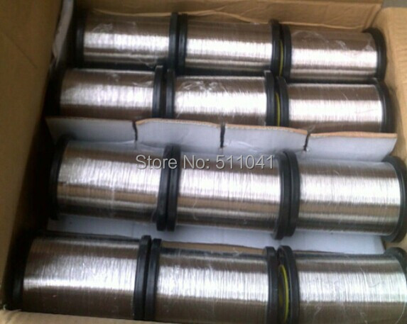 Factory sell sell nickel wire 0.025 np2 for  Industry purity 99.99%  ,support paypal <br><br>Aliexpress