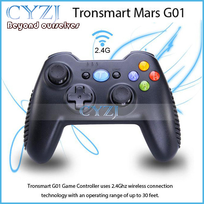 Tronsmart Mars G01 2.4Ghz Wireless Gamepad game Controller joystick For Android TV BOX / MINI PC / WINDOWS PC /PS3 / KINDLE FIRE(China (Mainland))
