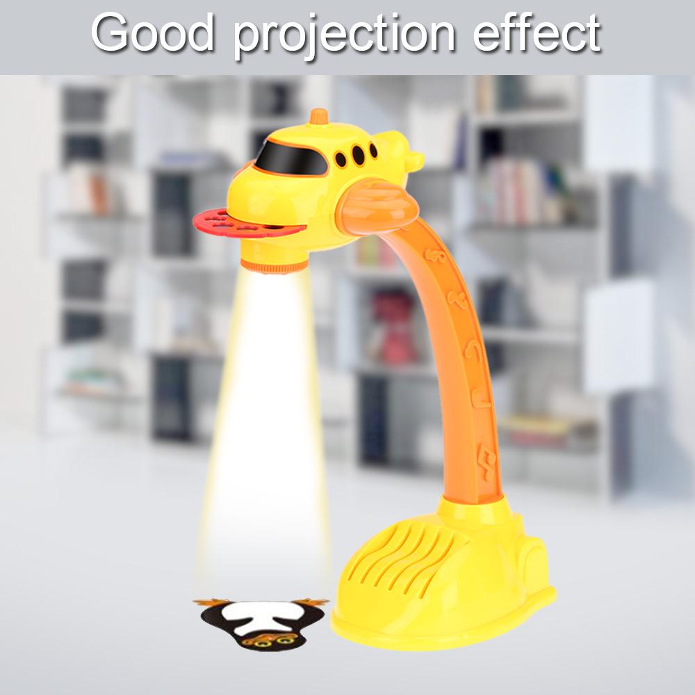 Hot Lampu Proyektor Anak Menggambar Mainan Listrik Mewarnai dan Lukisan Proyeksi Gambar Studi Mesin Belajar Mainan