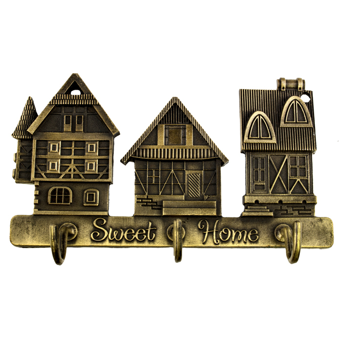 """Гаджет  Hook-hanger big """"house"""" decoration crafts materials for crafts russian style wall hook hanger hook funny gift set gift marriage None Аппаратные средства"""