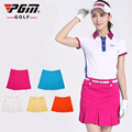 freeshipping PGM Ladies golf skirts Korean sports short skirt clothing summer woman girls kilt skirt wholesale