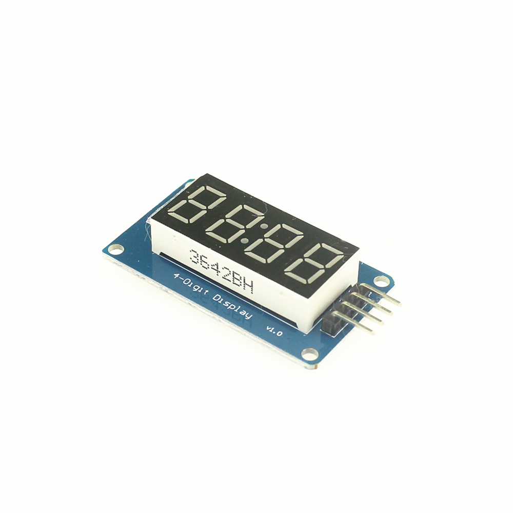 TM1637 LED Display Module For arduino 7 Segment 4 Bits 0.36Inch Clock RED Anode Digital Tube Four Serial Driver Board Pack(China (Mainland))