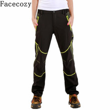 Women Spring&Summer Quick Dry Hiking&Trekking Sports Trousers Outdoor Patchwork Style UV Protection Climbing Pants&Pantalones