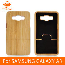 CORNMI For SAMSUNG GALAXY A3 Case Cover Bamboo Wood Back Cover Hard Phone Cases For SAMSUNG A3 A3000 Housing Shell Wholesale HTH