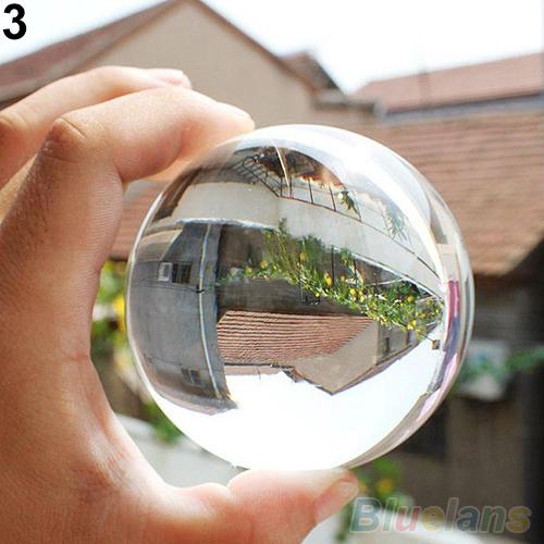 60mm Rare Natural Quartz Crystal Sphere Clear Magic Ball Chakra Healing Gemstone 1UBC 42AS(China (Mainland))