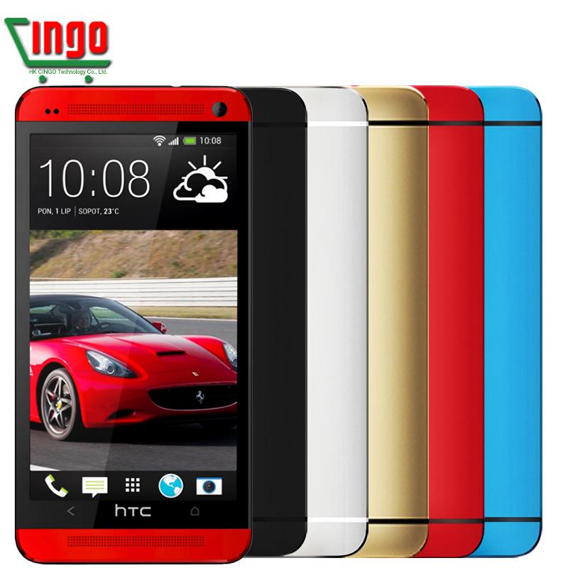 Original HTC ONE M7 801C 4G LTE Quad-Core 1.7GHz 4.7'' 1920*1080 Full HD Beats Audio Android 4.4.2 WIFI GPS 802 Dual SIM Phone(China (Mainland))