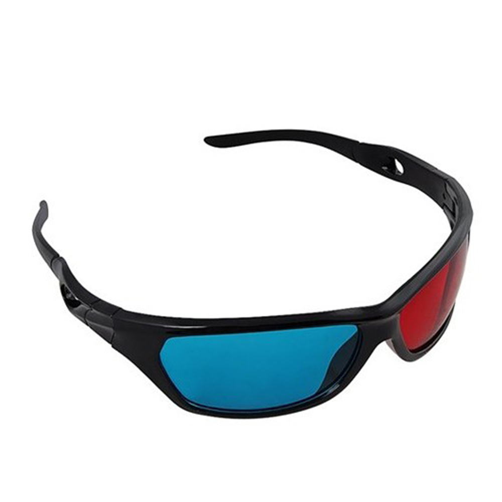Red&blue Cyan Anaglyph Simple Style 3D Glasses 3D movie game-Extra Upgrade(China (Mainland))
