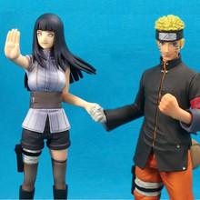 6″ anime Cartoon Anime The Seventh Naruto Children's Naruto Adult Uzumaki Hinata PVC Action Figure Collection Model kids toys