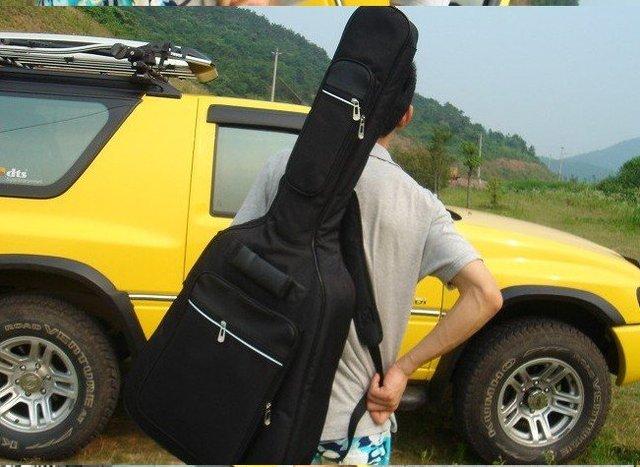 "free shipping new fashionable guitar41"" bag.acoustic guitar bag .Electric guitar bag.Bass packet.Folk guitars 5pcs"