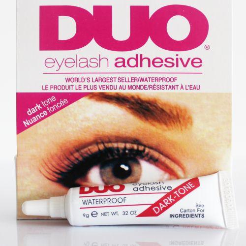 False Eyelash glue DUO anti-sensitive hypoallergenic Makeup Waterproof Adhesive Eyelashes glue (black glue) wholesale(China (Mainland))