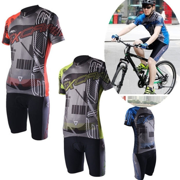 Bike Cycling Jersey Sets Men Bicycle Summer Breathable Short Sleeve Jersey And Shorts Set<br><br>Aliexpress