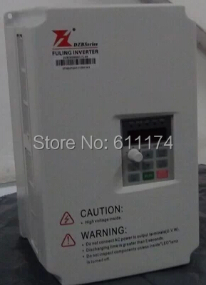 Fuling Frequency Inverter VFD 7.5KW AC380V DZB300 Series Model DZB300B0075L4A series for speed control(China (Mainland))