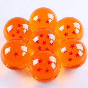 7 Шт./компл. Аниме DRAGON BALL с Подарочной Коробке 3.5 СМ Dragon Ball Z 7 Звезд Фигурки Хрустальные Шары коллекция Игрушек